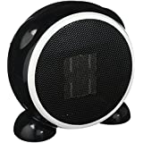 E-joy Ceramic Portable Personal Electric Space Heater, 500W, Black
