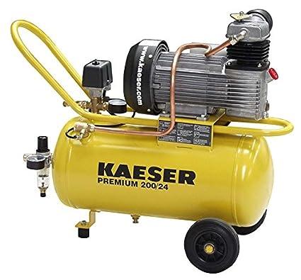 Pantalla Kaeser 200/24D taller compresor de aire comprimido