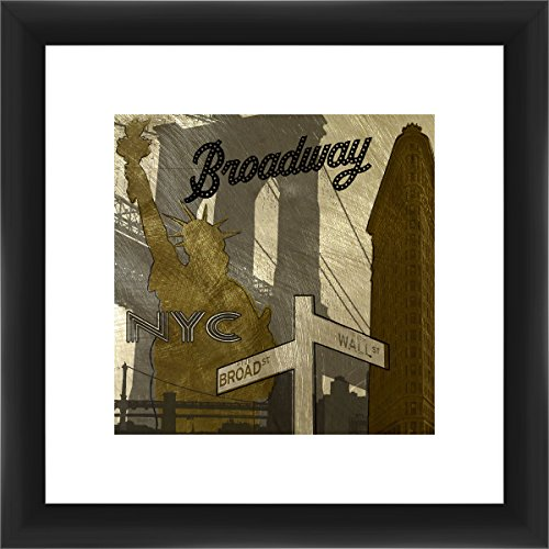 PTM Images 1-37040 New York Broadway, 12x12 Wall Art New York - Broadway New Of York Images