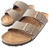 Birkenstock Arizona Mocha Birko-Flor 'Narrow Fit' Women's Sandals (9-9.5 US Women - 40 N EU)
