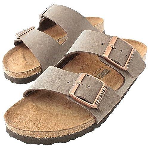25aaacf4c2bc 50%OFF Birkenstock Arizona Mocha Birko-Flor  Narrow Fit  Women s Sandals