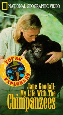 Amazon Jane Goodallmy Life With Chimpanzees Vhs Movies Tv