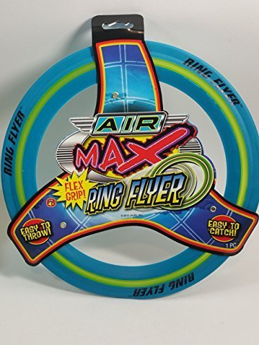 Air Max Flex Grip Ring Flyer Blue Frisbee Round Flying Disc Toy (Disks Flyer)