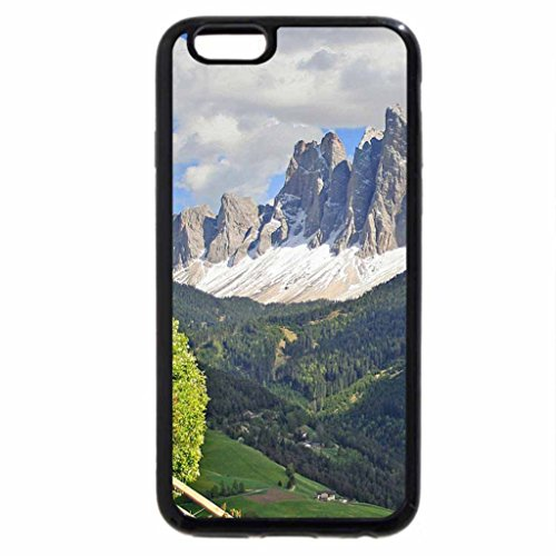 iPhone 6S / iPhone 6 Case (Black) magnificent landscape in the italian dolomites