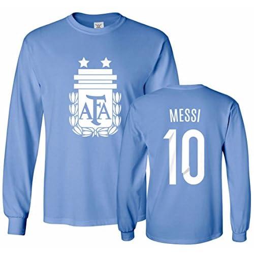 100% authentic 9b00c 519d5 outlet Tcamp Argentina Soccer Shirt Lionel Messi #10 Jersey ...