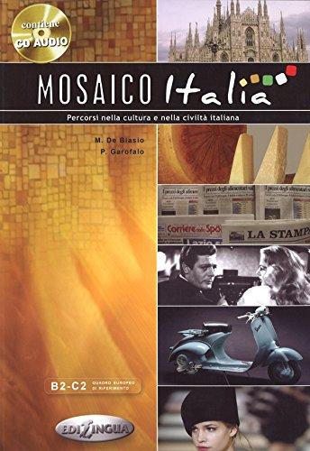 Mosaico Italia W/Audio Cd