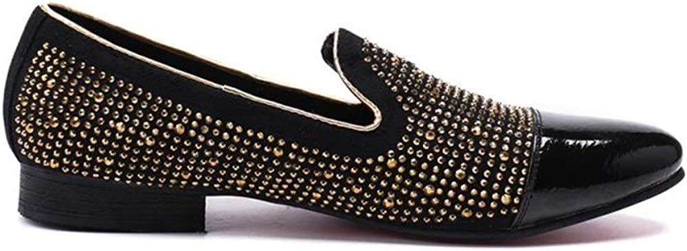 Rui Landed Oxford for Man Formal Shoes Slip On Style Genuine Leather Delicate Metal Low Top Yellow