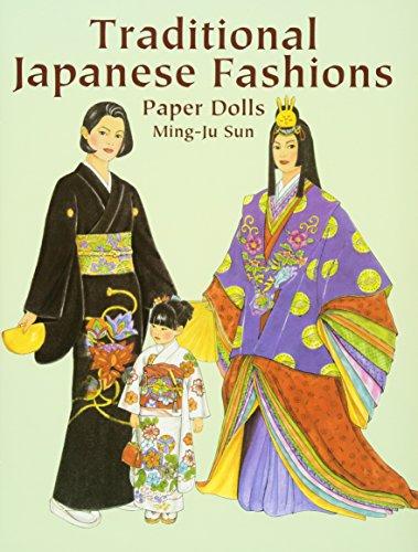 Japanese Kimono Paper Dolls - 6