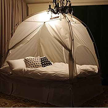 BESTEN Floorless Indoor Privacy Tent on Bed for Warm and Cozy Sleep inside Drafy Room ( : tent for bed - memphite.com