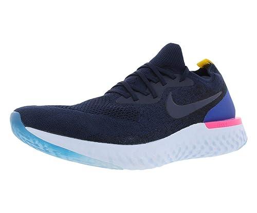 cd85fd6ce4c07 Nike Men's Epic React Flyknit, COLLEGE NAVY, 9 M US: Amazon.ca ...