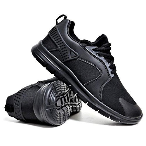 Mens Legacy Air Bubble Max 90 Running Trainers Airtech Fitness Shock Absorbing Sports Gym Shoes Size 7 8 9 10 11 12 Black - Black BzwNHQ7ph