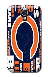 Nfl Chicago Bears Football Soft Gel Tpu Rubber Skin Cover Case Compatible With Samsung Galaxy S4