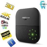 U2C T95V Android Tv Box 2gb Ram 16gb Rom, Octa Core S912 Amlogic Smart Tv Box Support 2.4G/5G WiFi,4K, AC Wireless & Ready to Stream Media Center