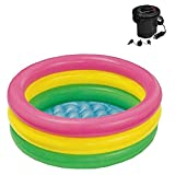 Intex Sunset Glow Baby Pool (34 in x 10 in) (Pool with Pump)