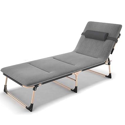 Amazon.com: Silla plegable para cama, cama, playa, jardín ...