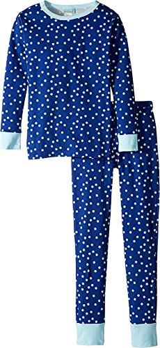 BedHead Kids Girl's Long Sleeve Long Pants Set (Big Kids) Demi Dot Clothing Set