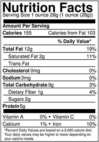 Food To Live ® Organic Cashews (Whole, Raw) (4 Pounds)