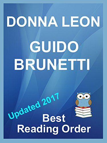 Donna Leons Inspector Guido Brunetti Series Updated 2017 Listed In Best Reading Order With Summaries And