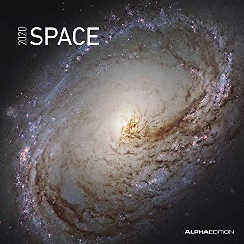 Space 2020 - Broschürenkalender (30 x 60 geöffnet) - Wandkalender - Weltraum - Wandplaner - Galaxien - Universum