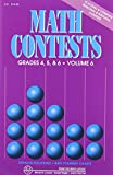 img - for Math Contests, Grades 4, 5 & 6, Vol. 6 (School Years 2006-2007 Through 2010-2011) book / textbook / text book