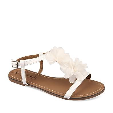 Nu Sacs Femme SCOTT Chaussures BLANC Chaussea MERRY et Pieds AcLqRj435