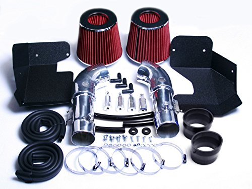 08 09 10 11 12 13 INFINITI G37 3.7 3.7L V6 ENGINE AIR INTAKE KIT SYSTEM (RED) - Infiniti G37 Intake