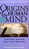 img - for Origins of the Human Mind book / textbook / text book
