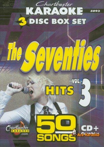 Chartbuster Karaoke CDG 3 Disc Box Set 5093 - The Seventies Hits Vol. 3 (Karaoke 70s)