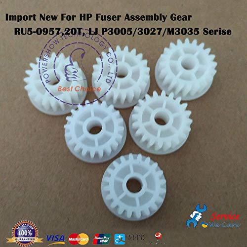 Printer Parts Original New RU5-0957 RU5-0957 -000 RU5-0957-000CN Arm Swing Driver Fuser Gear 20T for HP Laserjet P3005 M3027 M3035 Serise ()