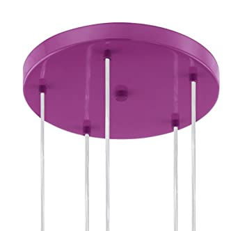 Eglo 92946 Suspension, Métal, E14, Violet