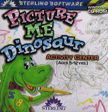 Picture Me Dinosaur - Activity Center by Sterling Software