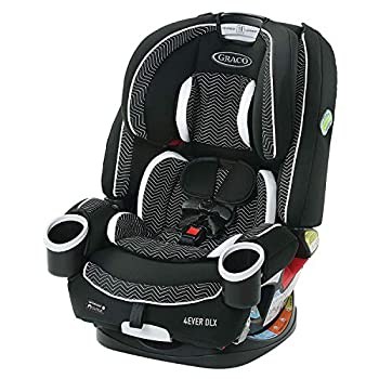 Graco 4Ever DLX 4 in 1 Automotive Seat, Toddler to Toddler Automotive Seat, with 10 Years of Use, Zagg
