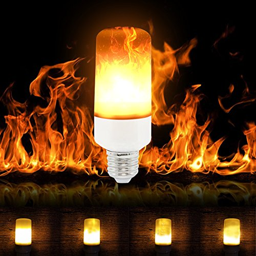 Outdoor Flickering Candle Light Bulbs - 8