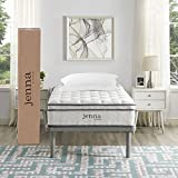 "Ultimate Quilted Pillow Top 10"" Jenna Twin Innerspring Mattress - Individually Encased Pocket Coils - 10-Year Warranty"