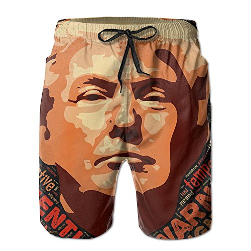 Trump Mens Breathable Swim Trunks Beach Shorts Board Shorts