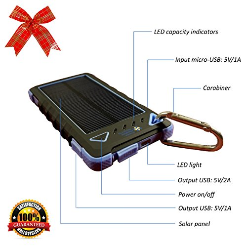 Best Travel Solar Charger - 5