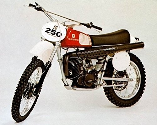 1976 Husqvarna Motocross Motorcycle 250WR Factory Photo