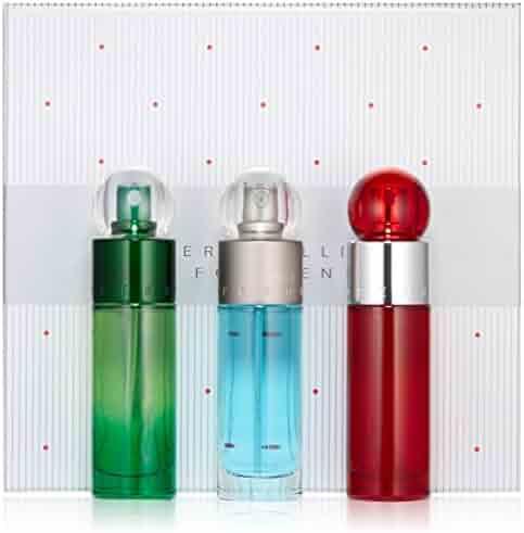 Perry Ellis 360 Eau de Toilette Spray Gift Set for Men, 3 Count