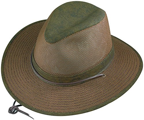 - Henschel Hats Aussie Breezer 5310 Cotton Mesh Distress Gold Hat, XXX-Large