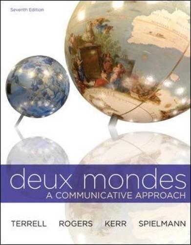 Deux Mondes  Student Edition