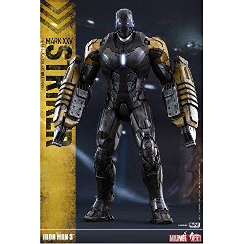 Hot Toys Marvel Iron Man 3 Iron Man Mark XXV Striker 1/6
