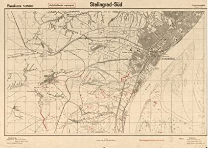 Cartina Russia Da Stampare.Historic Map 1942 Mappa Stalingrad Sud Dimensioni 18 X 24 Pronto Da Incorniciare Russia Federazione Volgograd Region R Amazon It Casa E Cucina