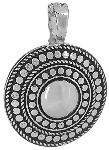 Wearable Art by Roman Rhinestone Owl Pendant Silver Tone Multi