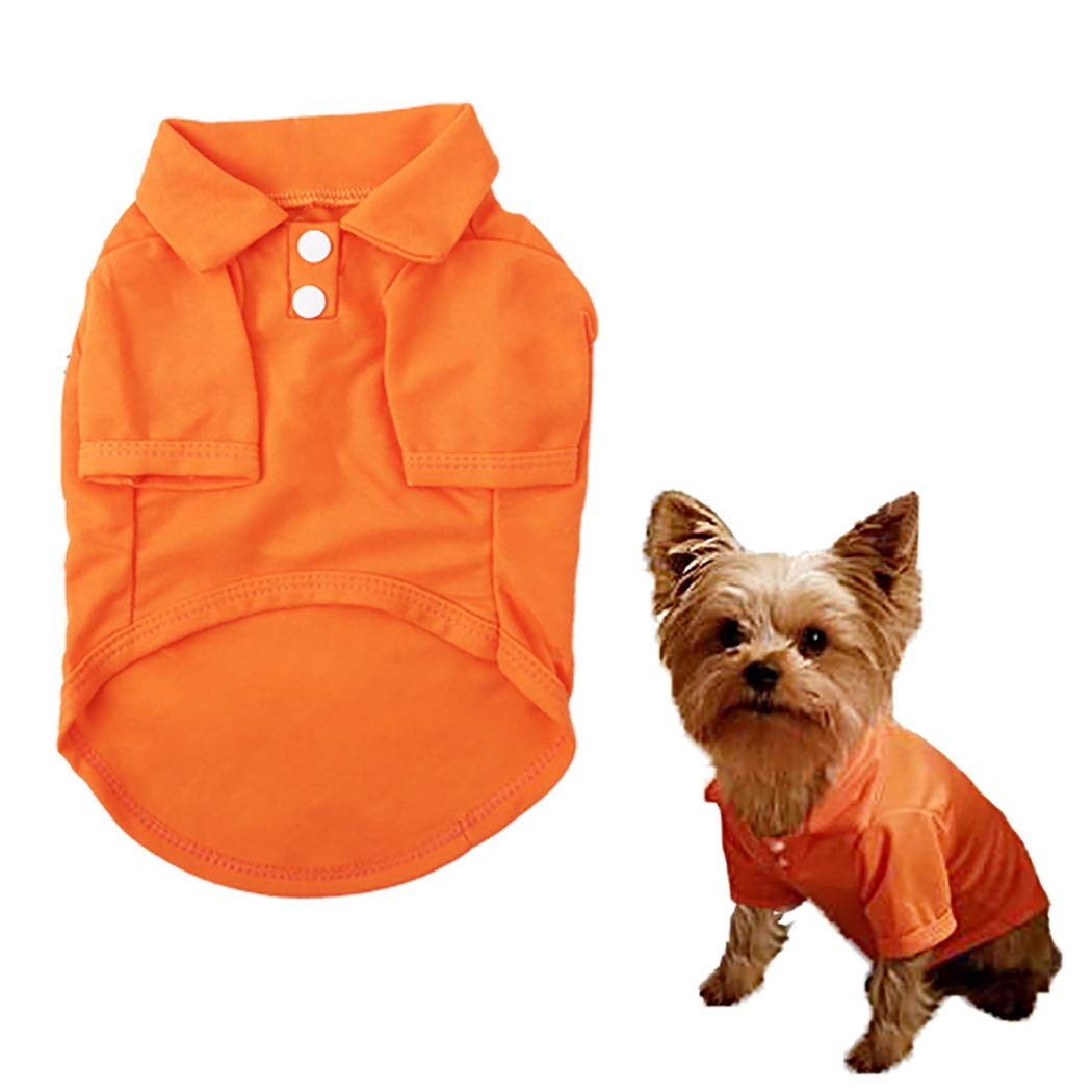 Fstrend Mommy Dog Cat Shirt Summer Clothes Pet Puppy T-Shirts Cotton Vest Clothes for Dogs and Cats XS, Blue