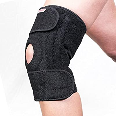 fca9edaff1 Knee Support Brace for Running Meniscus Tear Arthritis Stabilising Neoprene  Adjustable Men & Women: Amazon.co.uk: Health & Personal Care