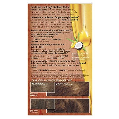 Clairol Natural Instincts 7g 9g Golden Honey Dark