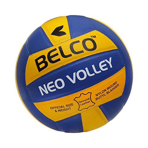 Belco Neo Genuine Leather Pasted Size 4 Volleyball