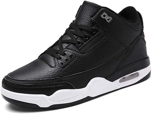 FJJLOVE Zapatillas de Baloncesto para Hombre Botas de Baloncesto ...