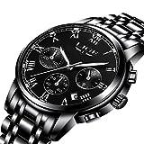Watches Men Luxury Brand Chronograph Men Sports Watches Waterproof Full Steel Quartz Men's Watch