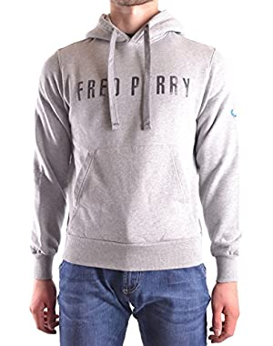 Men's MCBI128174O Grey Cotton Sweatshirt